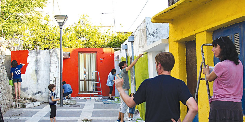 The Lakkos Project works to breathe colour, life and art into Lakkos, Heraklion, Crete, Greece.