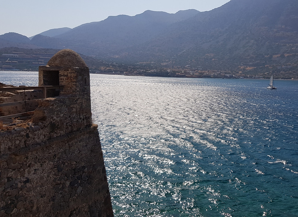 The island of Spinalonga in Crete, Greece is steeped in Venetian & Ottoman history. It's more recent purpose as a Leper colony adds a sad but fascinating chapter to this little islet in the Gulf of Elounda.