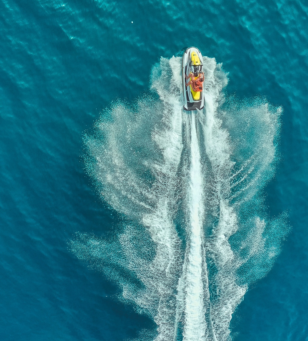 You'll find a huge variety of water sports for all the family in the resorts of the island of Crete, Greece.