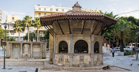 Kornarou Square, Heraklion, Crete, Greece.