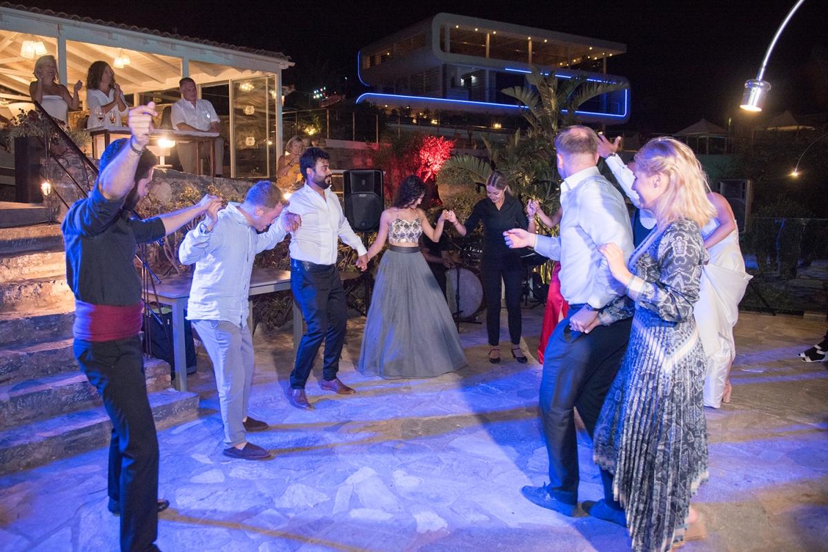 Wedding Party in a Cretan Resort