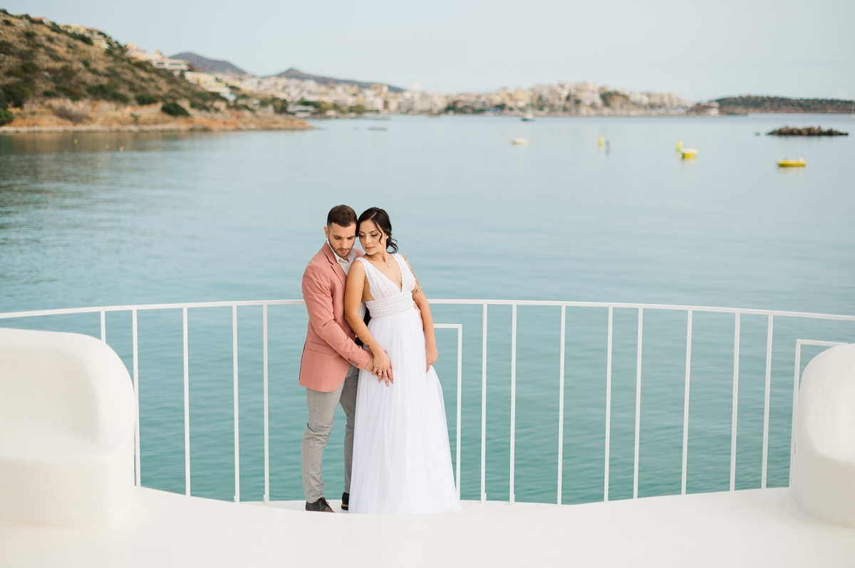 Beautiful Resort Wedding Setting, Crete, Greece