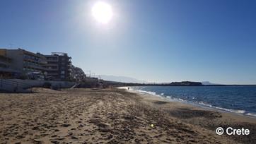 Rethymno Beach, Crete, Greece