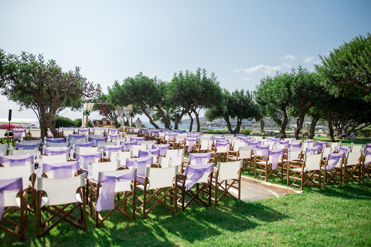 Wedding Ceremony by the sea Crete