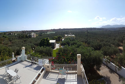 Balcony View Crete, Greece