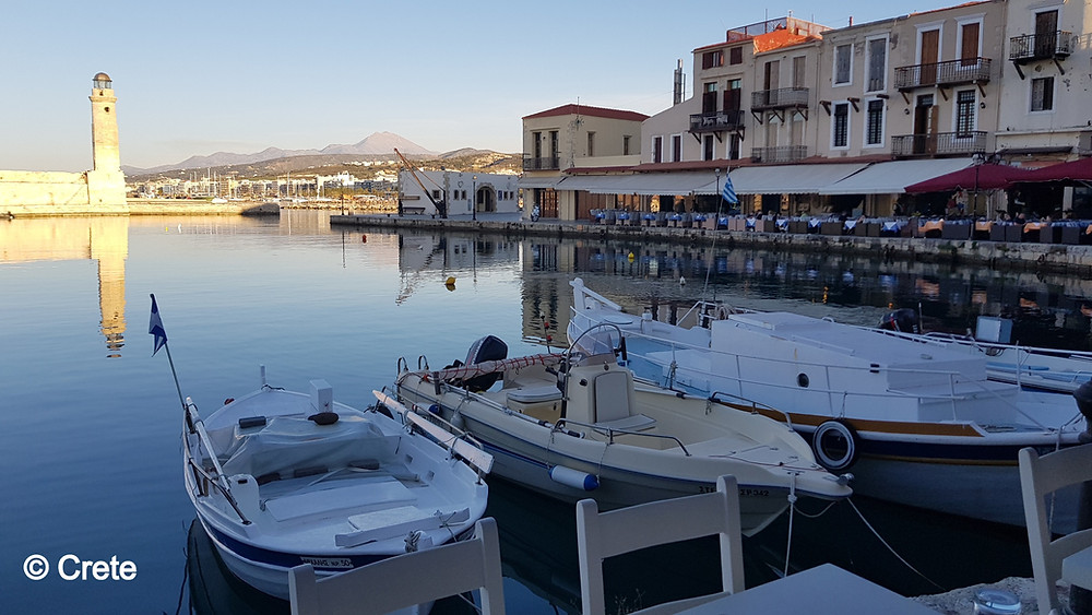 Retymno in Crete the largest of the Greek islands is full of history, culture and adventures and it's long sandy beach to the East of the town affords the perfect opportunity to bask in the Cretan sun.