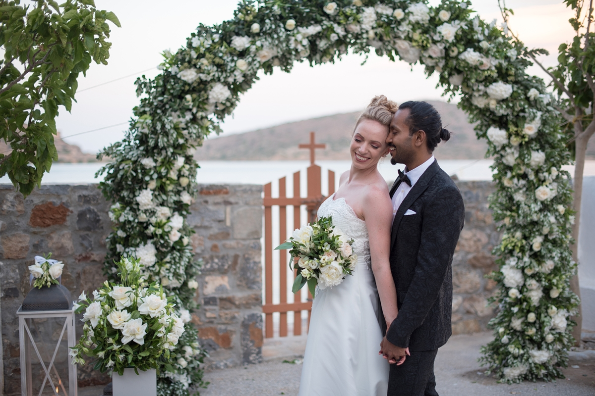 Bride & Groom Crete, Greece
