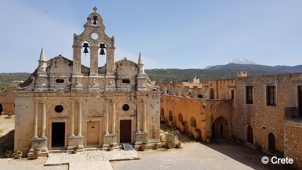 Monastery of Arkadi is around 20kms south of Rethmno Town in Crete, Greece. Famous for it's stories of the Cretan resistance against the Turkish occupation along with it's religious importance that dates back to the 16th century.