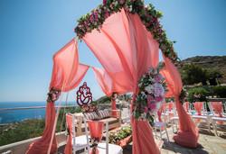 Hindu Ceremony Crete, Greece.