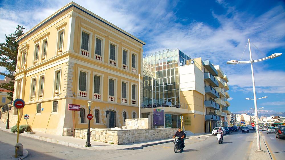 The Historical Museum of Crete, Heraklion, Greece.