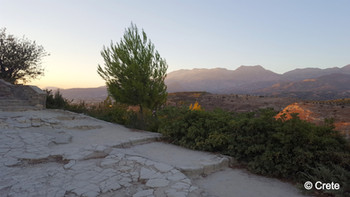 The Palacve of Phaistos, Crete, Greece