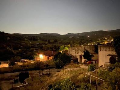 Evening in Ano Asites, Crete, Greece