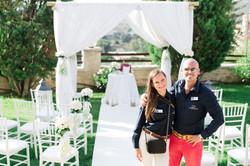 Alexandra & Allesandro of Double A Wedding Crete, Greece.