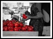 Pomegranates of Crete, Greece