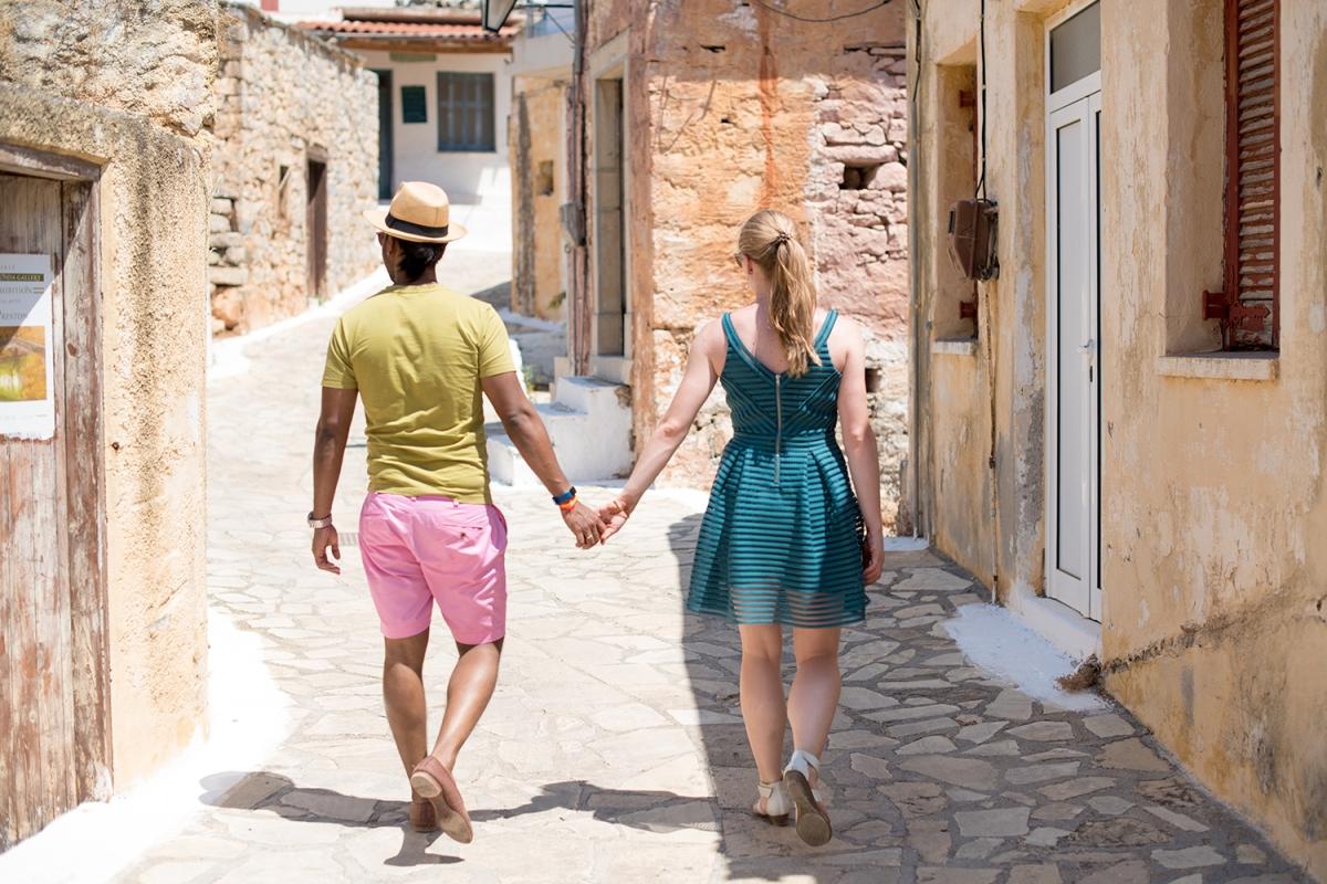 Pre Wedding Wander Crete, Greece