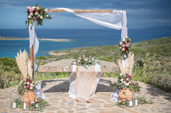Wedding Scene Crete, Greece.