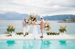 Stunning Resort Wedding in Crete, Greece