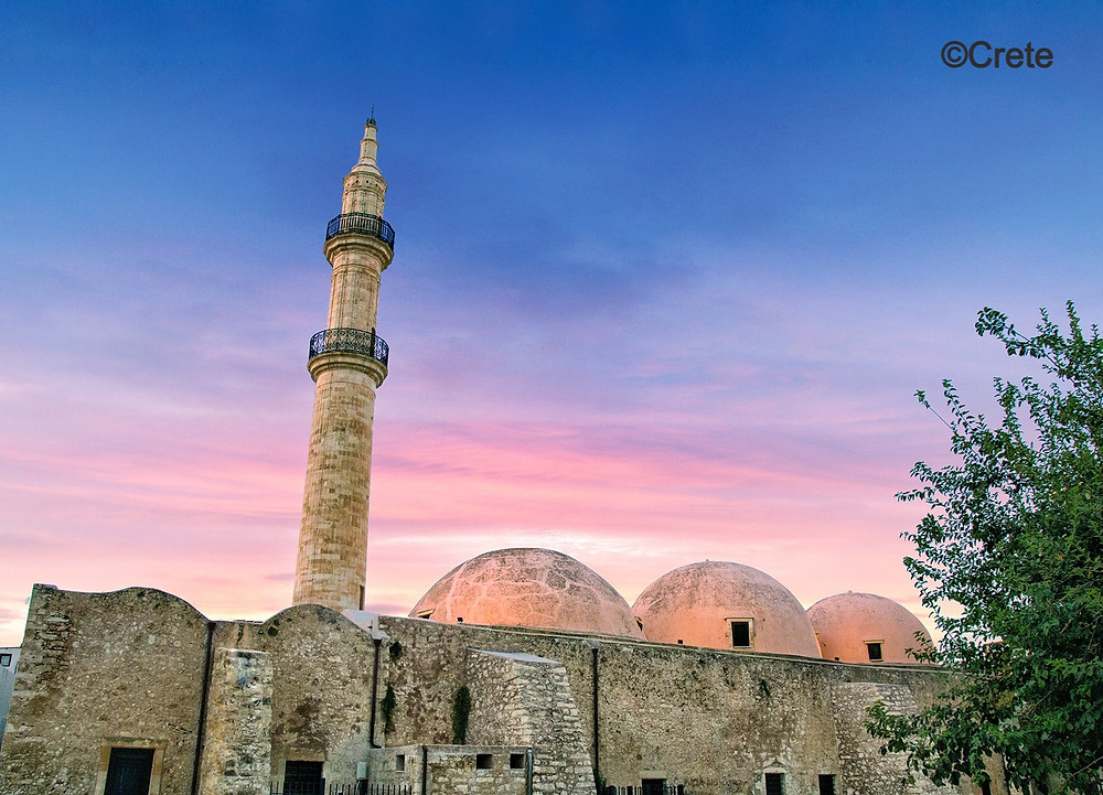 The Neratze Mosque lies at the heart of Rethymno Town in the central region of Crete's northern coast & nestles in the stunning historical citadel. Roman, Venetian & Ottoman history accompanies narrow street and a wide sandy beach to the East of this wonderful & atmospheric town.