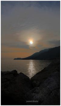 Scenic coatal view, Crete, Greece