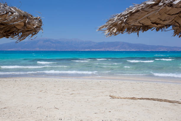 The stunning beaches & forests of Chrissi Island, Crete, Greece make for an almost tropical island paradise day out.
