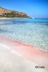 Balos Pink Sands, Crete, Greece