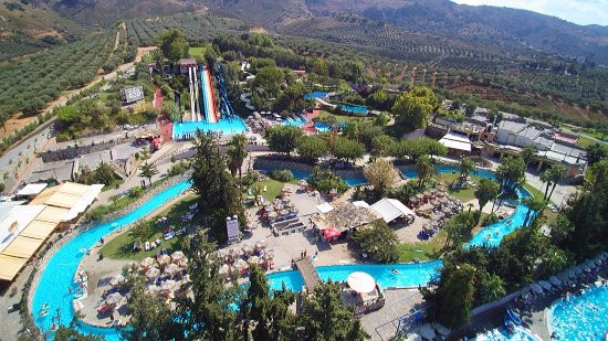 Limnoupolis Water Park is in the western region of the island of Crete, Greece not too far from the town of Chania and provides a day out for all the family.
