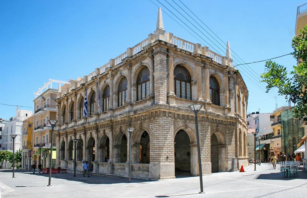 The Venetian Loggia of Heraklion, Crete, Greece. Now the city's town hall.