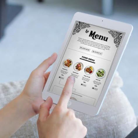 Menu on Touchpad
