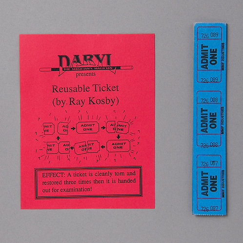 Reusable Ticket