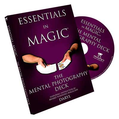 Essentials in Magic - The Mental Photography Deck