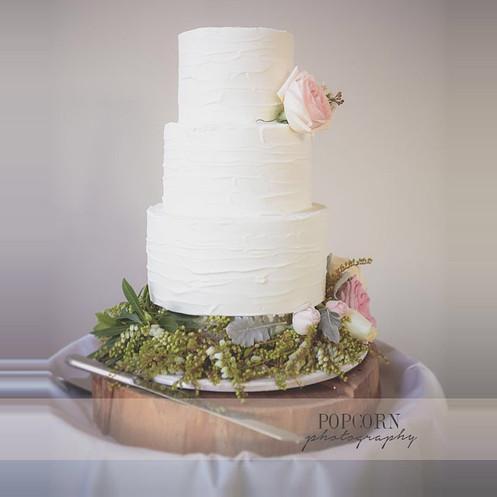 Soft Finish Wedding Cake