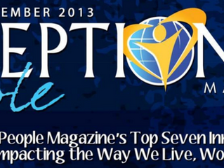 Ready Made Founder, Dr. Corwin Littell, is Featured in the November/December Issue of Exceptional Pe
