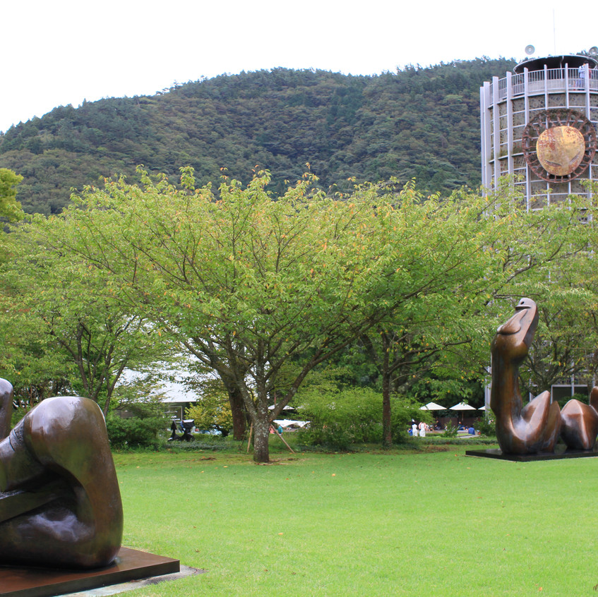 At the Hakone Open-Air Museum