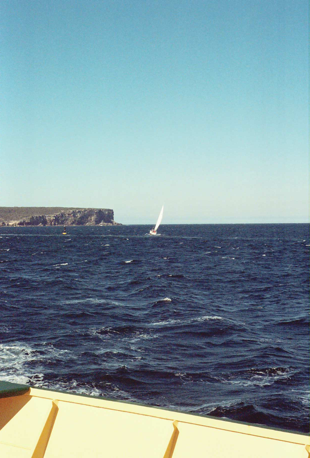 Towards Sydney Heads