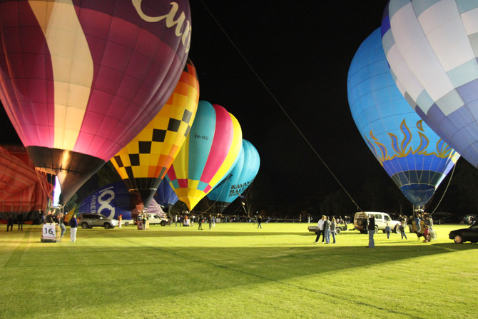 Photographing the Balloon Challenge