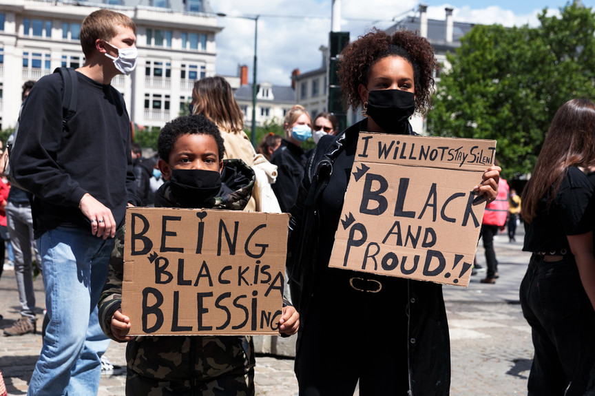Being black is a blessing.