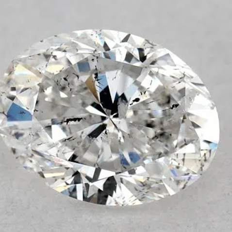 1ct Oval Diamond F-Color SI2-Clarity IGI Diamond