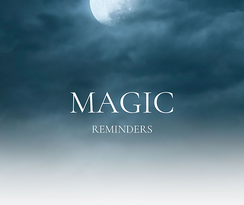 Magic  Reminders The Book