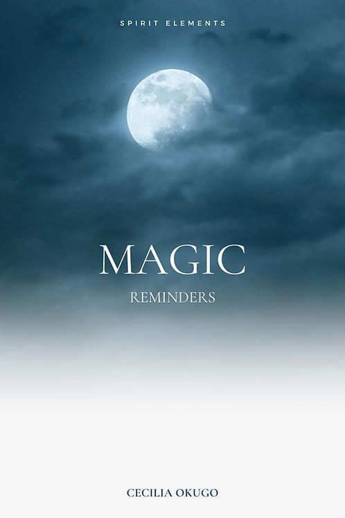 Magic  Reminders The Book