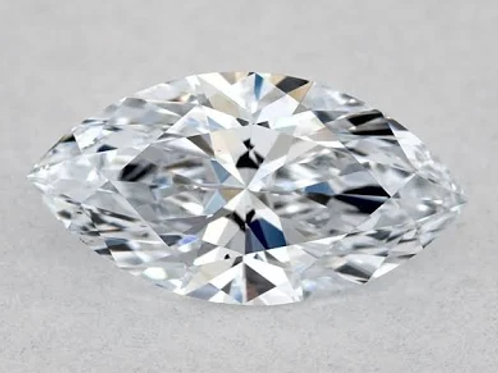 .53ct Fancy Blue-Color VS1-Clarity GIA Marquise Diamond