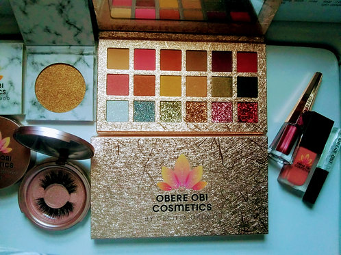 Obere Obi Golden Jelly 18 Color Eye-shadow Palette