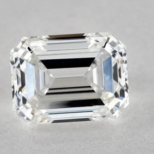 Lab Grown 1.10ct F-Color VS1-Clarity IGI Emerald Cut Lab Created Diamond