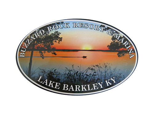 Buzzard Rock Resort & Marina Lake Sticker