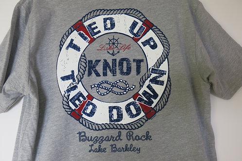 "T-Shirt ""Lake Life- Tied Up Tied Down"""