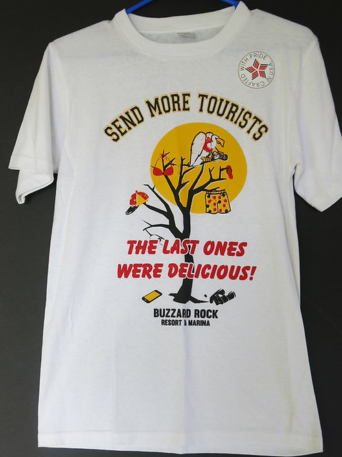 "T-Shirt ""Send More Tourist"""