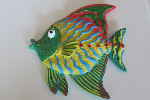 Tropical Fish Plaque