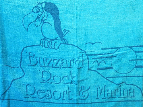 Buzzard Rock Beach Towel