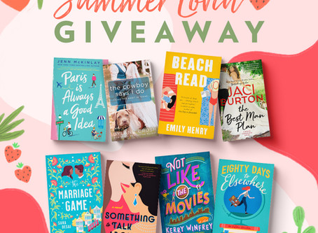 US Readers -- TWO book giveaways!