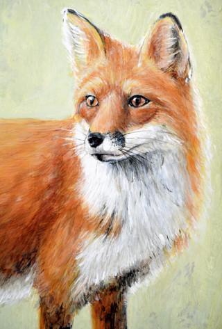 Red Fox, Mural, 2017