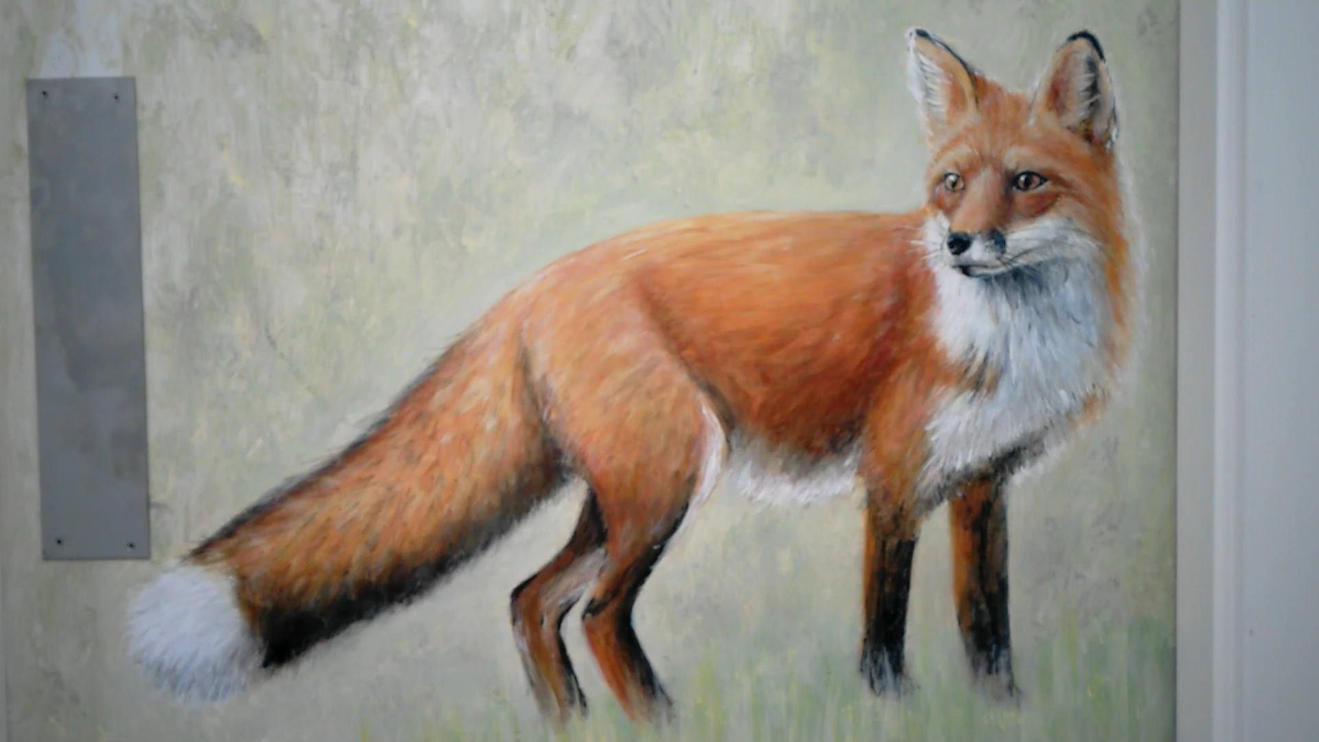 Hallway mural - Auger, Wallasey